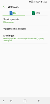 Samsung galaxy-a8-2018-sm-a530f-android-oreo - Voicemail - Handmatig instellen - Stap 7
