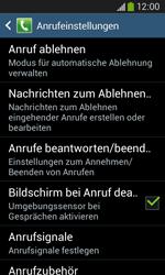 Samsung G3500 Galaxy Core Plus - Anrufe - Anrufe blockieren - Schritt 6