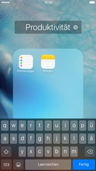Apple iPhone 6 Plus iOS 9 - Startanleitung - Personalisieren der Startseite - Schritt 6