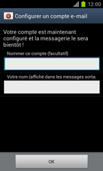 Samsung Galaxy S II - E-mail - Configuration manuelle - Étape 15
