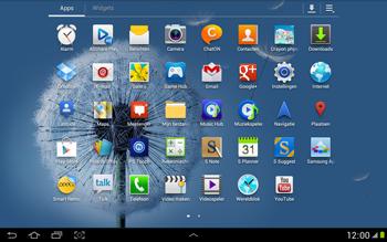 Samsung N8000 Galaxy Note 10-1 - Buitenland - Bellen, sms en internet - Stap 4
