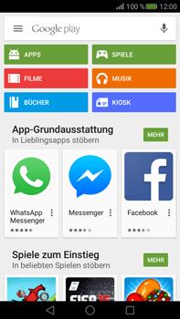 Huawei Mate S - Apps - Konto anlegen und einrichten - Schritt 19