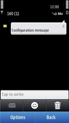 Nokia N8-00 - MMS - Automatic configuration - Step 4