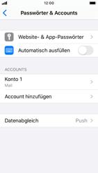 Apple iPhone SE - iOS 13 - E-Mail - Manuelle Konfiguration - Schritt 25