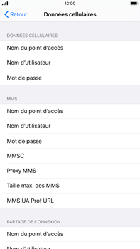 Apple iPhone 8 Plus - iOS 13 - MMS - Configuration manuelle - Étape 6
