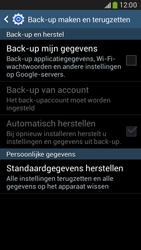 Samsung Galaxy Core LTE 4G (SM-G386F) - Instellingen aanpassen - Fabrieksinstellingen terugzetten - Stap 6