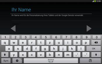 Samsung Galaxy Tab 3 10-1 LTE - Apps - Konto anlegen und einrichten - 6 / 25