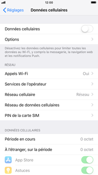 Apple iPhone 6s Plus - iOS 12 - Internet - activer ou désactiver - Étape 5