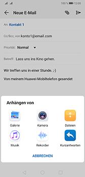 Huawei Mate 20 - E-Mail - E-Mail versenden - Schritt 10
