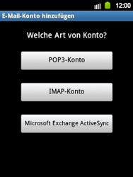Samsung Galaxy Y - E-Mail - Manuelle Konfiguration - Schritt 7
