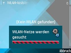 Nokia E71 - WLAN - Manuelle Konfiguration - Schritt 5