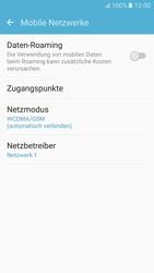 Samsung G920F Galaxy S6 - Android M - Netzwerk - Netzwerkeinstellungen ändern - Schritt 5