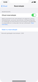 Apple iPhone XR - Data - maak een back-up met je account - Stap 14