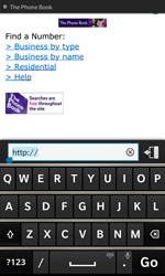 BlackBerry Z10 - Internet - Internet browsing - Step 12