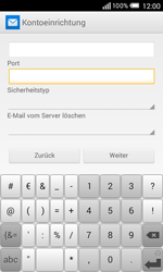 Alcatel Pop S3 - E-Mail - Konto einrichten - 0 / 0