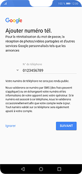 Huawei P20 lite - Applications - Créer un compte - Étape 13