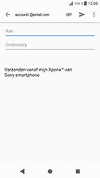 Sony Xperia XZ - Android Oreo - E-mail - e-mail versturen - Stap 4