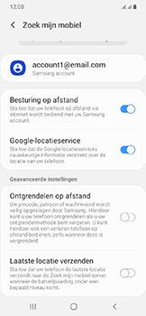 Samsung Galaxy A20e - Beveiliging en privacy - zoek mijn mobiel activeren - Stap 8