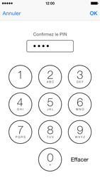 Apple iPhone 5c (iOS 8) - Sécuriser votre mobile - Personnaliser le code PIN de votre carte SIM - Étape 11