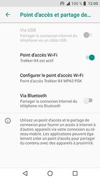 Crosscall Trekker X4 - Internet et connexion - Partager votre connexion en Wi-Fi - Étape 10