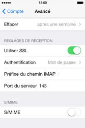 Apple iPhone 4 S iOS 7 - E-mail - Configuration manuelle - Étape 25