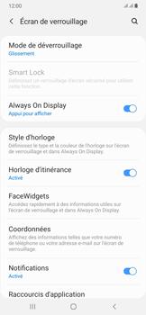 Samsung Galaxy A50 - Sécuriser votre mobile - Activer le code de verrouillage - Étape 5