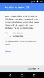 Sony Sony Xperia E5 (F3313) - Applications - Créer un compte - Étape 14