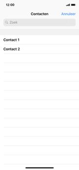 Apple iPhone X - iOS 12 - MMS - afbeeldingen verzenden - Stap 4