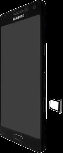 Samsung Galaxy A3 - SIM-Karte - Einlegen - 7 / 10
