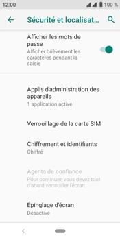 Crosscall Core M4 - Sécuriser votre mobile - Personnaliser le code PIN de votre carte SIM - Étape 6