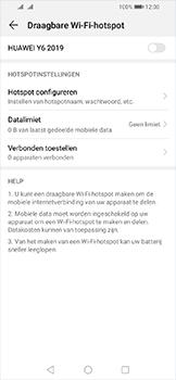 Huawei Y6 (2019) - Internet - Stel mobiele hotspot in - Stap 13