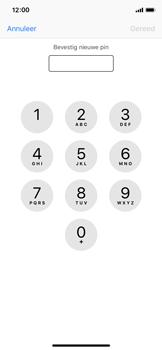 Apple iPhone XS - Beveiliging - Stel de pincode voor je simkaart in - Stap 10