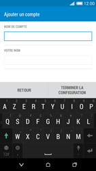 HTC Desire 816 - E-mail - Configuration manuelle - Étape 18