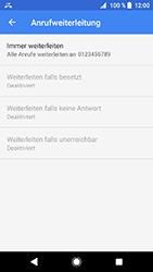 Sony Xperia XZ1 Compact - Anrufe - Rufumleitungen setzen und löschen - 11 / 12