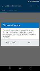 HTC One M9 - Android Nougat - Anrufe - Anrufe blockieren - Schritt 9
