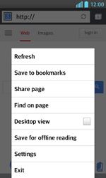 LG E460 Optimus L5 II - Internet - Internet browsing - Step 6
