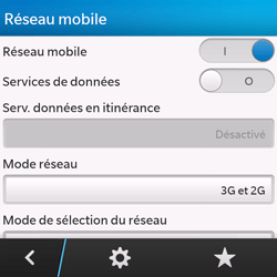 BlackBerry Q10 - Internet et roaming de données - Configuration manuelle - Étape 6
