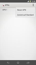 Sony Xperia Z1 - Internet - Apn-Einstellungen - 10 / 20