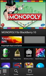 BlackBerry Z10 - Apps - Konto anlegen und einrichten - Schritt 3