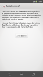 Sony Xperia Z1 - Fehlerbehebung - Handy zurücksetzen - 9 / 11