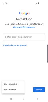 Samsung Galaxy S10e - Apps - Konto anlegen und einrichten - Schritt 6
