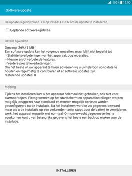 Samsung Galaxy Tab A 9.7 (SM-T555) - Software updaten - Update installeren - Stap 7