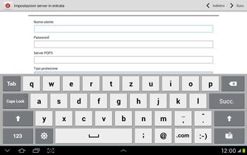 Samsung Galaxy Tab 2 10.1 - E-mail - Configurazione manuale - Fase 7