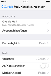 Apple iPhone 4S iOS 7 - E-Mail - 032a. Email wizard - Gmail - Schritt 11