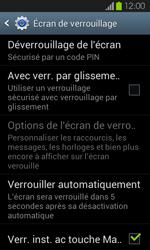 Samsung Galaxy S2 - Sécuriser votre mobile - Activer le code de verrouillage - Étape 11