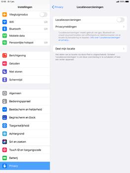 Apple ipad-pro-10-5-inch-met-ipados-13-model-a1709 - Beveiliging en ouderlijk toezicht - Zoek mijn iPad inschakelen - Stap 5