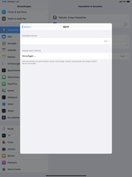 Apple iPad Pro 12.9 (2018) - ipados 13 - E-Mail - Manuelle Konfiguration - Schritt 17