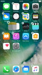 Apple iPhone 6s iOS 10 - Startanleitung - Personalisieren der Startseite - Schritt 4