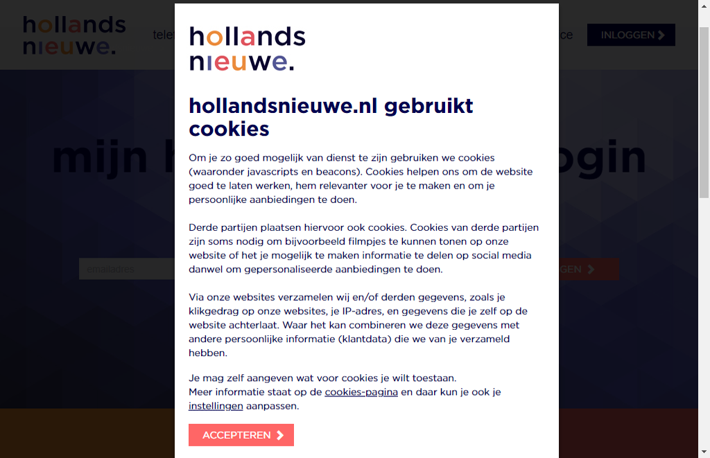 Apple iPhone XS Max - iOS 13 - mijn hollandsnieuwe - PUK code vinden via mijn hollandsnieuwe - stap 3