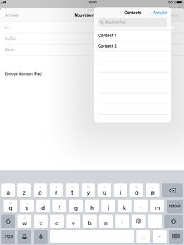 Apple iPad mini 4 iOS 11 - E-mail - Envoi d